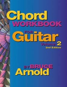 Chord Workbook for Guitar Volume two by Bruce Arnold for Muse Eek Publishing Company guitar chords