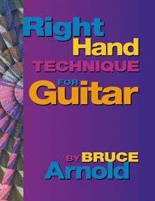 Right Hand Technique for Guitar Volume One by Bruce Arnold for Muse Eek Publishing Company