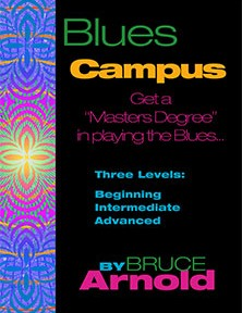 Blues Campus Guitar Course by Bruce Arnold for Muse Eek Publishing Company