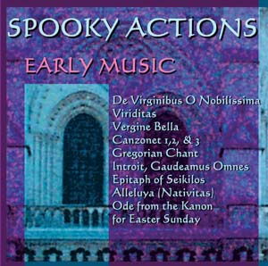 Classical Masterpieces, Improvising Classical Music, Improvising over Classical Music, Early Music: Spooky Actions by Bruce Arnold for Muse Eek Publishing Company