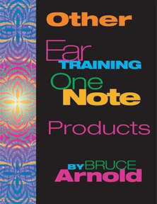 Other Ear Training One Note Products by Bruce Arnold for Muse Eek Publishing Company