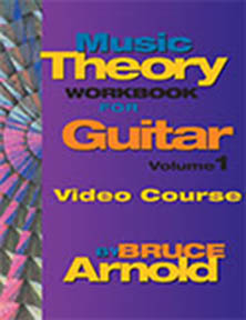 Music Theory Workbook for Guitar Volume One by Bruce Arnold for Muse Eek Publishing Company