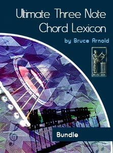 Ultimate 3 Note Chord Lexicon: BUNDLE
