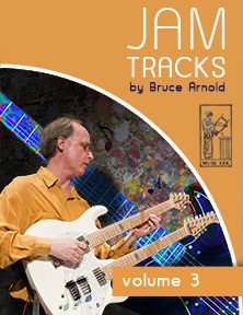 Jam Tracks Volume Three are backing tracks in all 12 keys by Bruce Arnold for Muse Eek Publishing