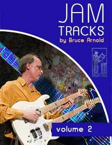 Jam Tracks Volume Two are backing tracks in all 12 keys by Bruce Arnold for Muse Eek Publishing