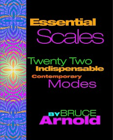 Essential Scales by Guitarist Bruce Arnold for Muse Eek Publishing Company