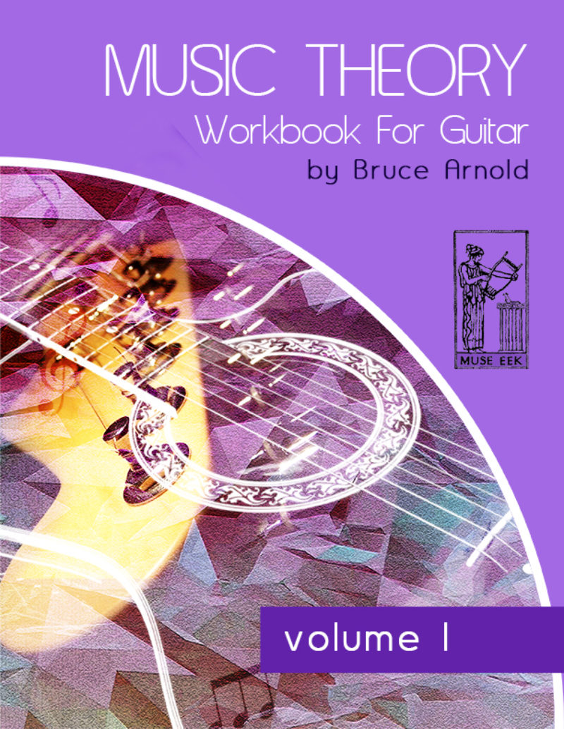 Workbooks music in theory and practice workbook : Music Theory book for Guitar with videoMuse EEK