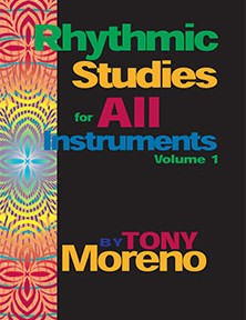 Rhythm Studies for All Instruments by Tony Moreno for Muse Eek Publishing Company