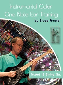 Instrumental Color: One Note Ear Training  Acoustic Lap Slide Guitar