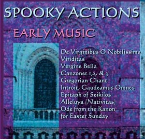 Early Music: Spooky Actions by Bruce Arnold for Muse Eek Publishing Company