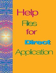 Help Files for Direct Application