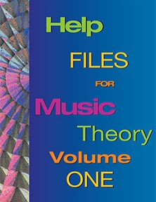 Help Files for Music Theory Workbook for Guitar Volume One