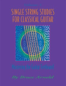 Single String Studies for Classical Guitar by Bruce Arnold for Muse Eek Publishing Company