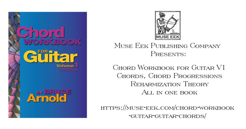 Chord Workbook Guitar Volume 1 Guitar Chords Chord ProgressionsMuse EEK