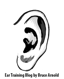 Ear Training Blog by Bruce Arnold for Muse Eek Publishing Inc. Slash Chord Ear Training Practice Strategy Hearing Songs in One Key Center