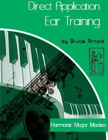 Direct-Application-Ear-Training-Harmonic-Major Modes by Bruce Arnold for Muse Eek Publishing