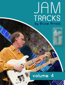 Jam Tracks Volume Four are backing tracks in all 12 keys for the Harmonic Major Scale Modesby Bruce Arnold for Muse Eek Publishing