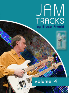 Jam Tracks Volume Four are backing tracks in all 12 keys for the Harmonic Major Scale Modes by Bruce Arnold for Muse Eek Publishing- Jam Tracks Series