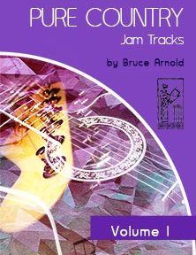 Pure Country Jam Tracks are Country Music backing tracks in all keys by Bruce Arnold for Muse Eek Publishing Company Jam Tracks Series