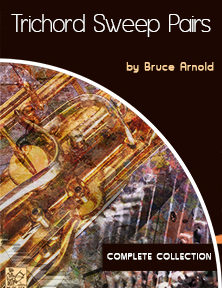 Trichord Sweep Pairs for guitarists and instrumentalist by Bruce Arnold for Muse Eek Publishing Company