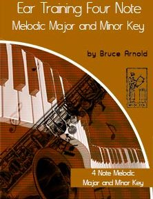 Ear-Training-Four-Note-Melodic-Major-Minor-Key-by-bruce-arnold-for-muse-eek-publishing-inc.