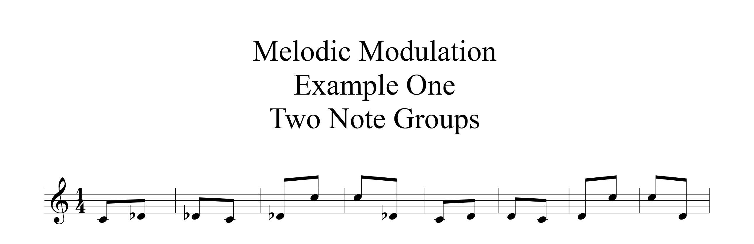 Melodic-Modulation-2-note-groups-Example-one-by-bruce-arnold-for-muse-eek-publishing-inc.