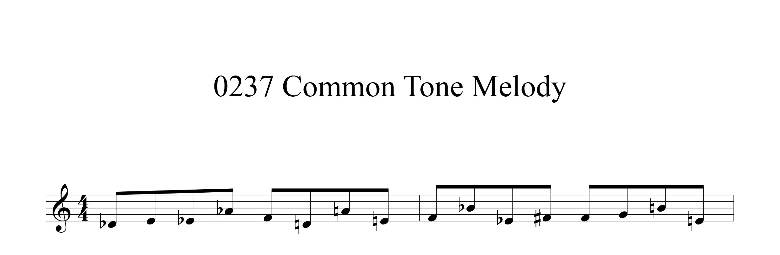 Melodic-Modulation-4-note-groups-Example-two-common-tone-improvisation-by-bruce-arnold-for-muse-eek-publishing-inc.