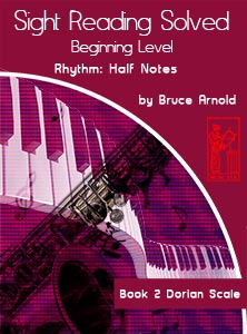 Book-Two-Sight-Reading-Solved-Book-music-reading-clef-transposition-ledger-lines-ear-training-by-Bruce-Arnold-for-Muse-Eek-Publishing-Inc-Comprehensive-Beginning-Music-Reading