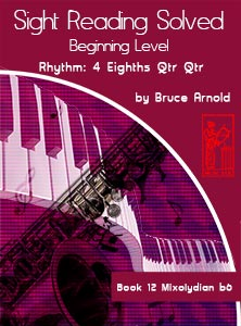Book-Twelve-Sight-Reading-Solved-Book-music-reading-clef-transposition-ledger-lines-ear-training-by-Bruce-Arnold-for-Muse-Eek-Publishing-Inc-Comprehensive-Beginning-Music-Reading
