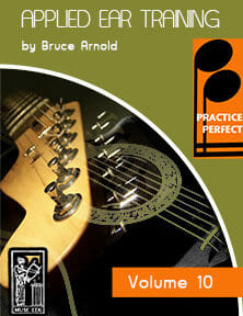 Practice-Perfect-Applied-Ear-Training-V10-by-Bruce-Arnold-for-Muse-Eek-Publishing-Inc.-Practice Perfect Ear Training Series real Contemporary Orchestion Music Ear Training
