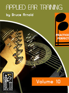 Practice-Perfect-Applied-Ear-Training-V10-by-Bruce-Arnold-for-Muse-Eek-Publishing-Inc.-Practice Perfect Ear Training Series real Contemporary Orchestration Music Ear Training