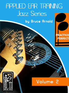 Practice-Perfect-Applied-Ear-Training-Jazz Series-by-Bruce-Arnold-for-Muse-Eek-Publishing-Inc. Minor Blues Ear Training