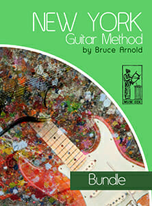 New York Guitar Method Series-Bundle-by-Bruce-Arnold-for-Muse-Eek-Publishing-Inc-222X300