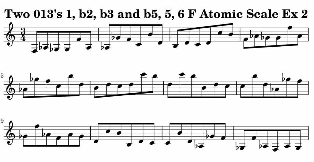 02_013_Degree_1_b2_b3_b5_5_6_Atomic_Scale_Ex_2_Key__F_Harmonic-and-Melodic-Equivalence-V2