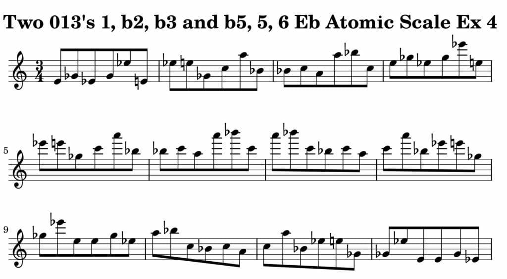 04_013_Degree_1_b2_b3_b5_5_6_Atomic_Scale_Ex_4_Key__Eb_Harmonic-and-Melodic-Equivalence-V2