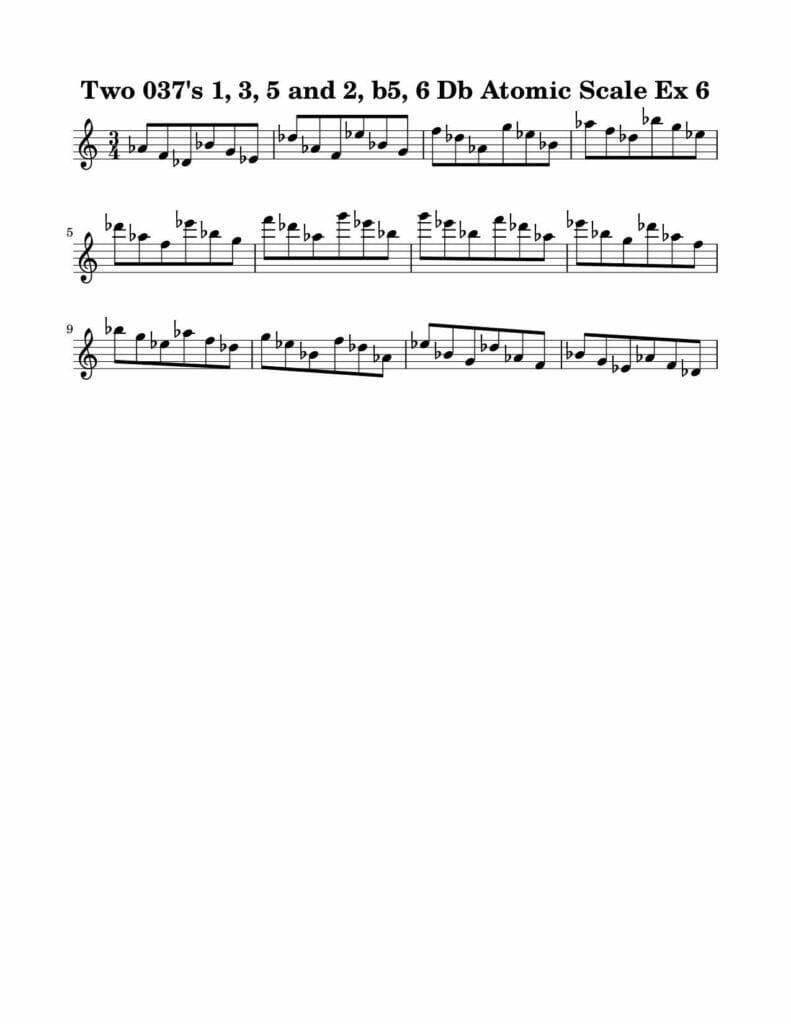 06_037_Degree_1_3_5_2_b5_6_Atomic_Scale_Ex_6_Key_Db-Harmonic-and-Melodic-Equivalence-19B