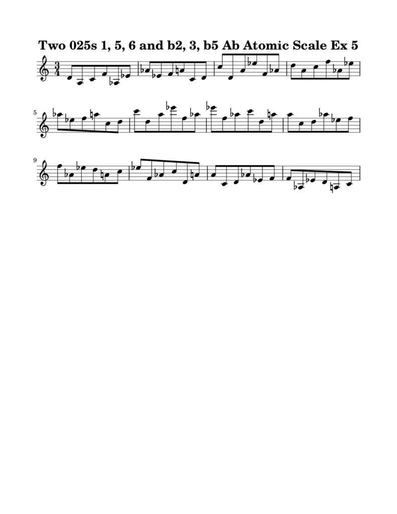 05-025-025-Degree-1-b2-3-b5-6-7-Atomic-Scale-Ex-5-Key-Ab-Harmonic-and-Melodic-Equivalence-V10C-by-bruce-arnold-for-muse-eek-publishing-inc