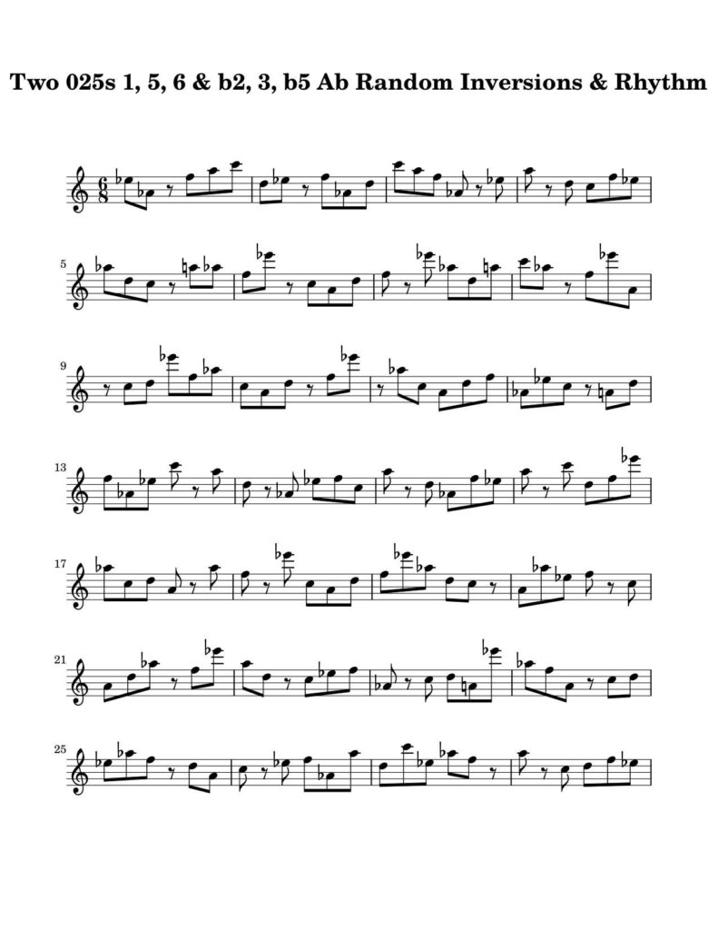 05-025-025-Degree-1-b2-3-b5-6-7-Random-Inv-Rhy-Key-Ab-Harmonic-and-Melodic-Equivalence-V10C-by-bruce-arnold-for-muse-eek-publishing-inc