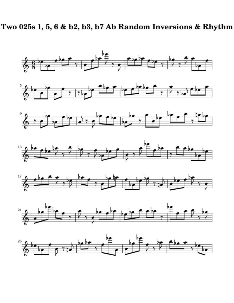 05-025-025-Degree-1-b2-b3-5-6-b7-Random-Inv-Rhy-Key-Ab-Harmonic-and-Melodic-Equivalence-V10D-by-bruce-arnold-for-muse-eek-publishing-inc