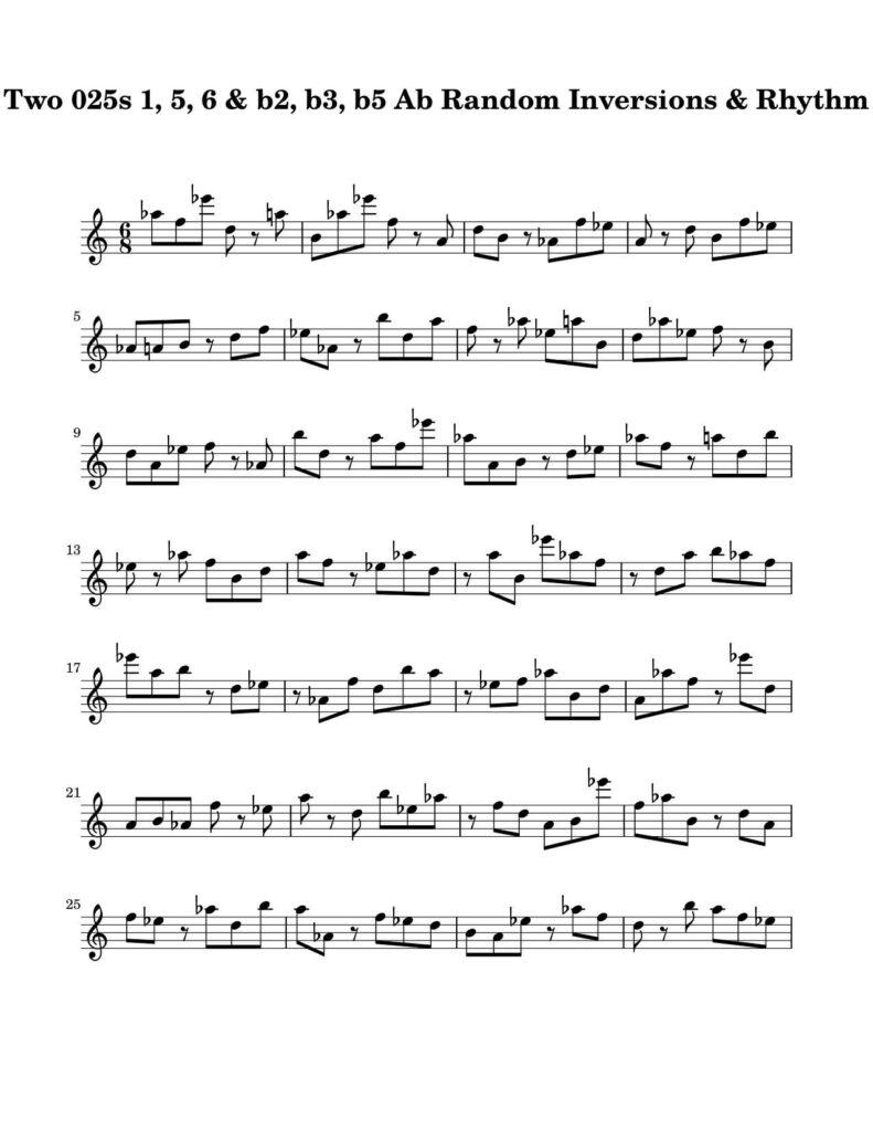05-025-025-Degree-1-b2-b3-b5-5-6-Random-Inv-Rhy-Key-Ab-Harmonic-and-Melodic-Equivalence-V10B-by-bruce-arnold-for-muse-eek-publishing-inc